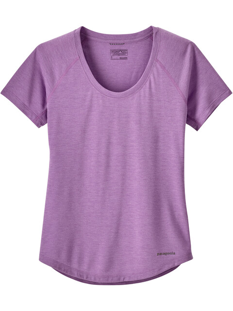 Patagonia W's Nine Trails SS Shirt Light Acai